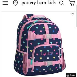 Pottery Barn Backpack - S